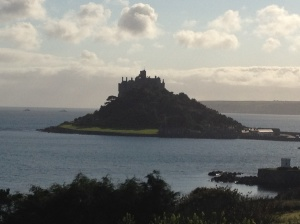 The beautiful St. Michael's Mount in Cornwall