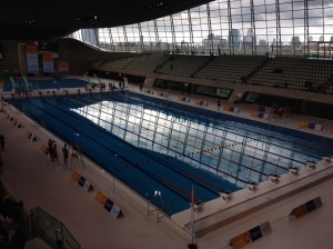 London 2012 Olympic Pool for the 2014 Swimathon