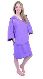 toweling robe